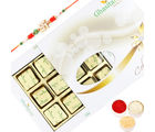 Ghasitaram Gifts Rakhi Chocolates-Ghasitarams Chocolates Assorted Chocolates 12 pcs White Box-R2