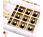 Ghasitaram Gifts Rakhi Chocolates-Choco Cups (12 pcs) -R4