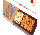 Ghasitaram Gifts- Gold Dryfruit Box