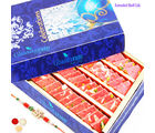 Ghasitaram Gifts Rakhi Sweets Strawberry Katli 200 Gms-R2