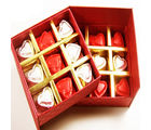 Ghasitarams Valentine gift-Sugarfree Double Decker Heart Chocolate Box