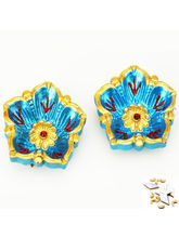 Ghasitaram Set Of Two Flower Diyas, Only