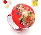 Ghasitaram Gifts Kids Rakhi - Round Chota Bheem Light Band, round chota bheem light band with chocolate box