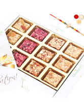 Rakhi Gifts Natural Fruit Assorted Sugarfree Sweet...