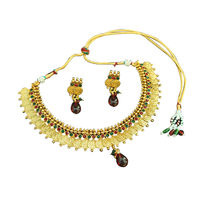 Pearl Anklet With Pearl Jhumka Earring