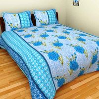 Double Bedsheet & 2 Pillow Covers