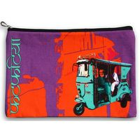 Turquoise Taxi Utility Pouch