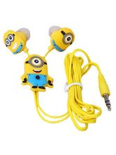 Despicable Me The Minion 3.5mm Stylish Earphones, ...