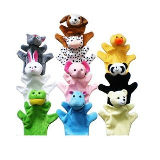 Hand Puppets - Set Of 10 Pcs Baby Education Story ...
