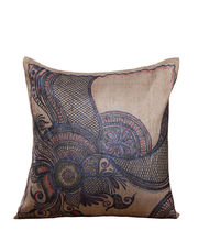 Hand Painted Heena Cushion Cover