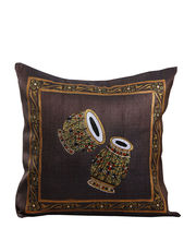 Hand Painted Royal Tanjore Instrument Cushion Cover