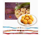 Giftacrossindia Sweets And Rakhi Express Combo (GAIR2016088)
