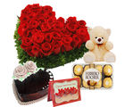 Gifts valley Love Special with special cake treat