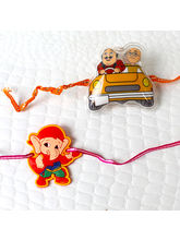 Giftacrossindia Pack Of 2 Kid Rakhis