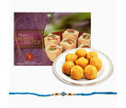 Giftacrossindia Delicious Sweets Combo With Rakhi Express (GAIR2016066)