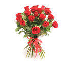 Gifts valley 15 Red Roses Hand Tied Bunch