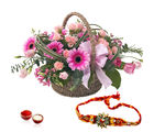 Giftacrossindia Exotic Basket Arrangement With Rakhi Express (GAIR2016180)