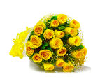 Giftacrossindia Soft ouch of Yellow Roses! (GAIMPHD0519), 1000 gms
