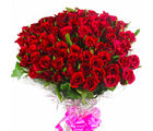 Giftacrossindia 100 Red Roses Bouquet (GAIMPHD0572), 1000 gms