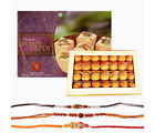 Giftacrossindia Loose Rakhi Express And Sweets Combo (GAIR2016091)