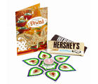Giftacrossindia Hersheys Treat with Artificial Rangoli and Diwali Card