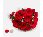 Giftacrossindia 12 Red Roses Bouquet for Bhaidooj Gift (GAIBD2016113)