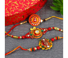 Gifts Across India Floral Designer Rakhi