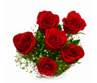 Giftacrossindia Full Bloom Red Roses Bunch (GAIMPHD0553), 1000 gms