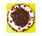 Giftacrossindia Delicious One Kg Black Forest Fresh Cream Cake (GAIMPHD0095), 1000 gms