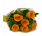 Giftacrossindia Birthday Special Yellow Roses Bunch (GAIMPHD0524), 1000 gms
