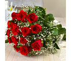 Giftacrossindia Fresh Fifteen Romantic Red Roses Bouquet (GAIMPHD0034), 1000 gms