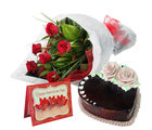 Gifts valley Heart shape cake delight