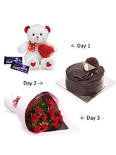 Gifts valley 3 Days Valentine surprise for
