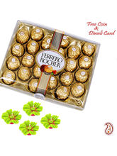 Aapno Rajasthan 24 Pc Ferrero Rocher Pack For Diwali For Diwali (DCHO1601)