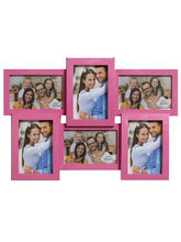 Aapno Rajasthan Pink Collage Photoframe to Cherish Memories, pink