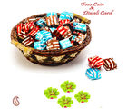 Aapno Rajasthan Homemade Chocolates Pack With Basket For Diwali (DCHO1641), brown