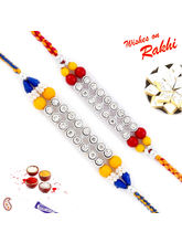 Aapno Rajasthan Set Of 2BeAds And Ad Studded Rakhi...