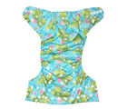 Soft Baby Reusable Adjustable Cloth Diaper (ESCD_ Frog), multicolor