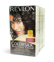 REVLON COLORSILK HAIR COLOR SOFT BLACK