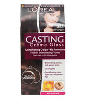 LOREAL CASTING GLOSS HAIR COLOUR 353 BLACK GINGER