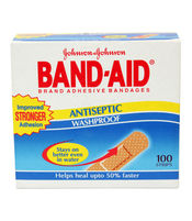 BAND AID WASHPROOF 100S