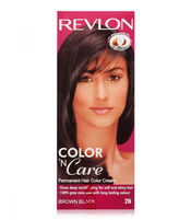 REVLON COLOR N CARE HAIR COLOR BROWN BLACK
