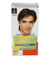 GARNIER COLOR NATURALS SINGLE USE HAIR COLOR 3 DARKEST BROWN
