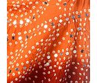 Little India Rajasthani Traditional Tie n Dye Beautiful Designer Lehanga Choli Set-DLM6LED304, brick red and orange
