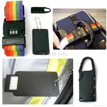 Travel Set   Baggage lock & Combination lock luggage strap & Name Tag   CR 7182