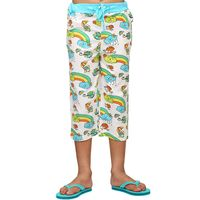Rainbow - Kid's PANT, 12 , white