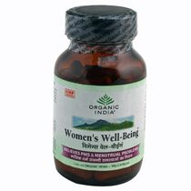Organic India   For Well Being   Women's Well Being Capsules Bottle (1 X 60 Tablets)