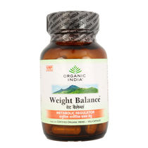 Organic India   For Weight Loss   Weight Balance Capsules Bottles (1 X 60 Tablets)