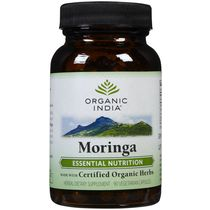Organic India   Moringa Capsules Bottle (1 X 60 Capsules)