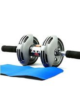 Zealous AB Wheel Roller Exercise Fitness Slim Body...